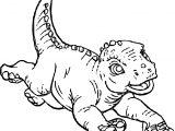 Disney Alad Dinosaur Coloring Page