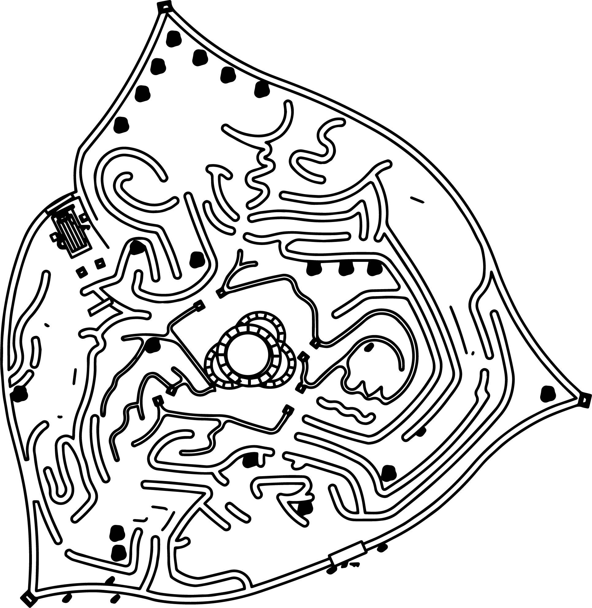 Disney Alice In Wonderland Queen Heart Castle And Maze