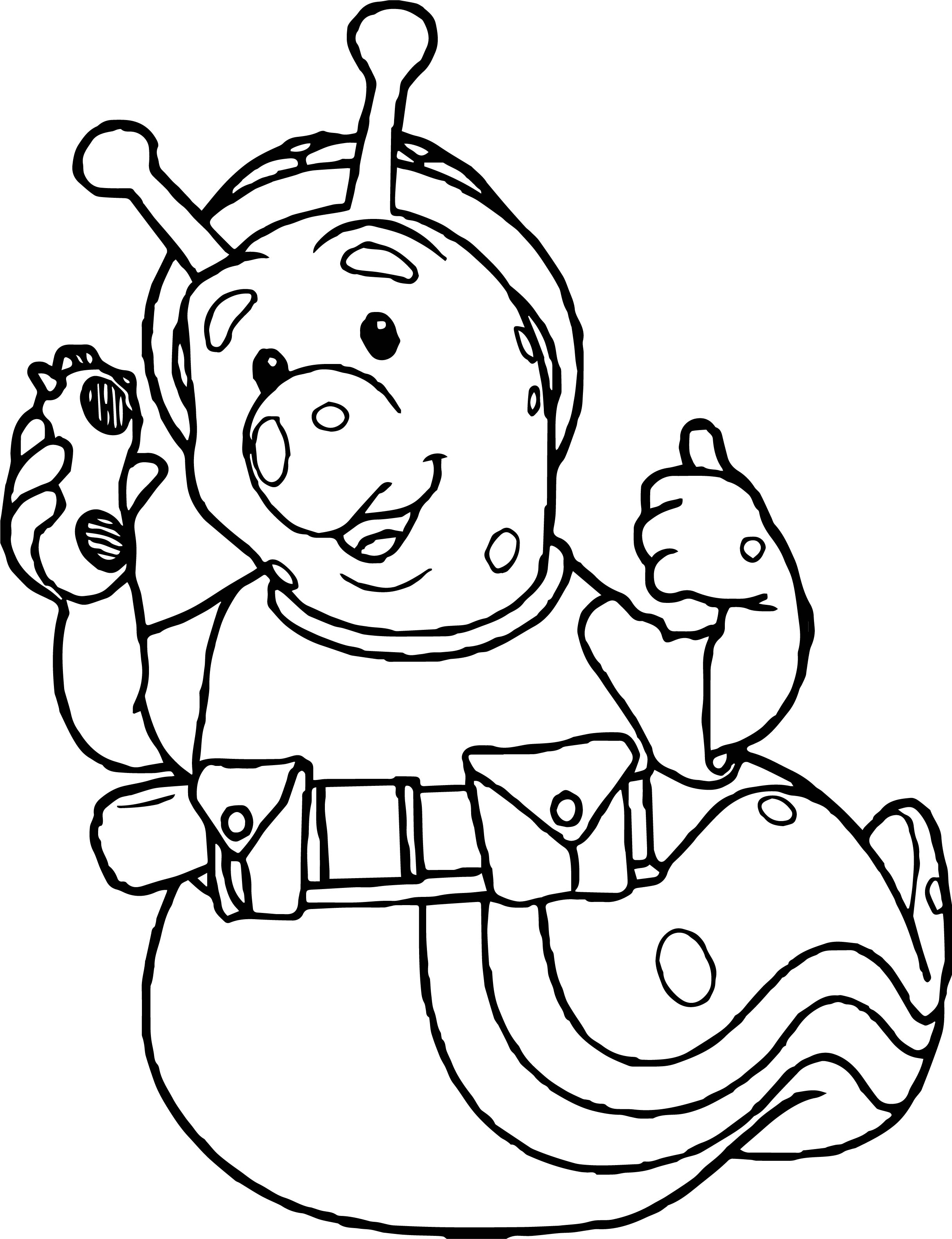 Fifi And The Flowertots Snail Coloring Page | Wecoloringpage.com