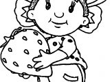 Fifi Strawberry Coloring Page