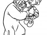Geppetto Family Coloring Page