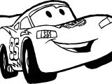 Happy Disney Cars Coloring Page