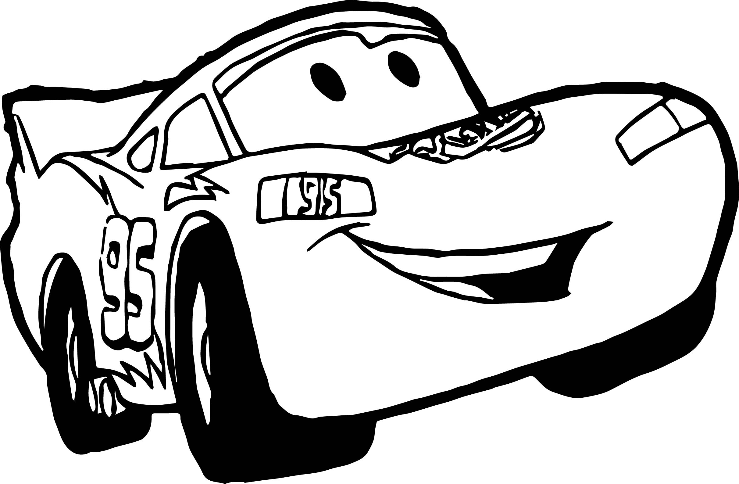 disney cars coloring pages - happy disney cars coloring page