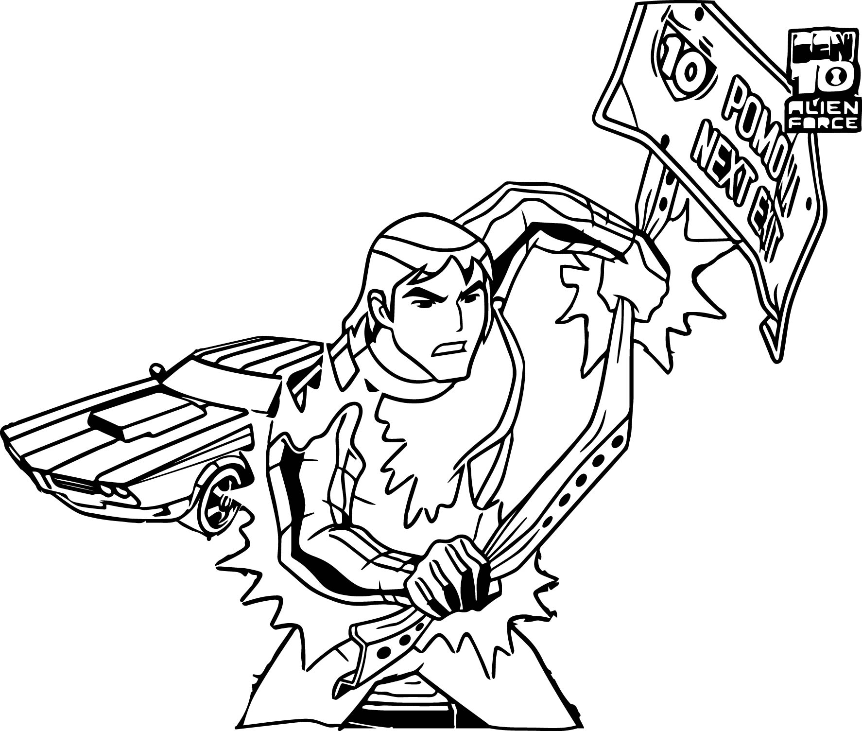 Kevin Levin Large Coloring Page