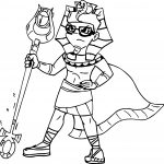 King Tuck Coloring Page