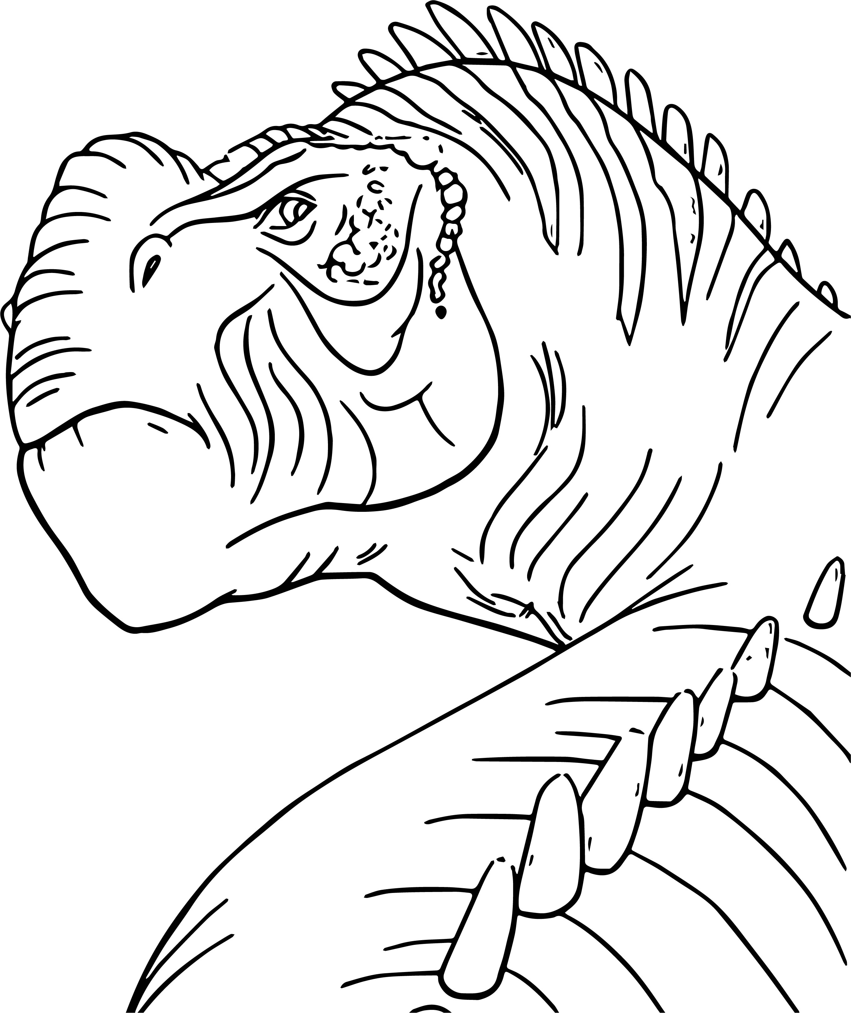 Kron dinosaur coloring page for Coloring page com