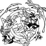 Looney-Tunes-Circle-Coloring-Pages