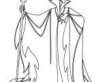 Maleficent Diablo Coloring Page
