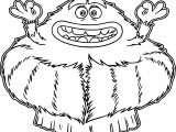 Monster Art Coloring Page