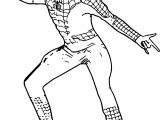 Muscle Chest Adult Spiderman Costume Spider Man Coloring Page