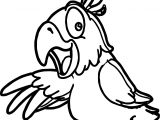 Parrot Bird Coloring Pages