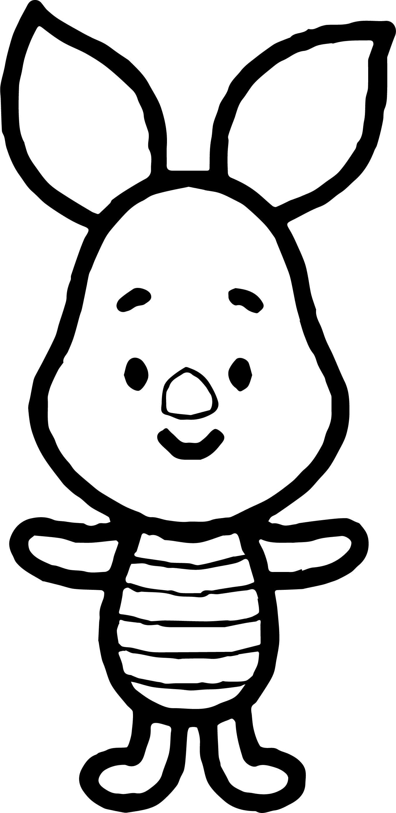 Piglet coloring pages cute coloring pages for Piglet coloring pages
