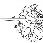 Pinocchio And Jiminy Nest Nose Coloring Page