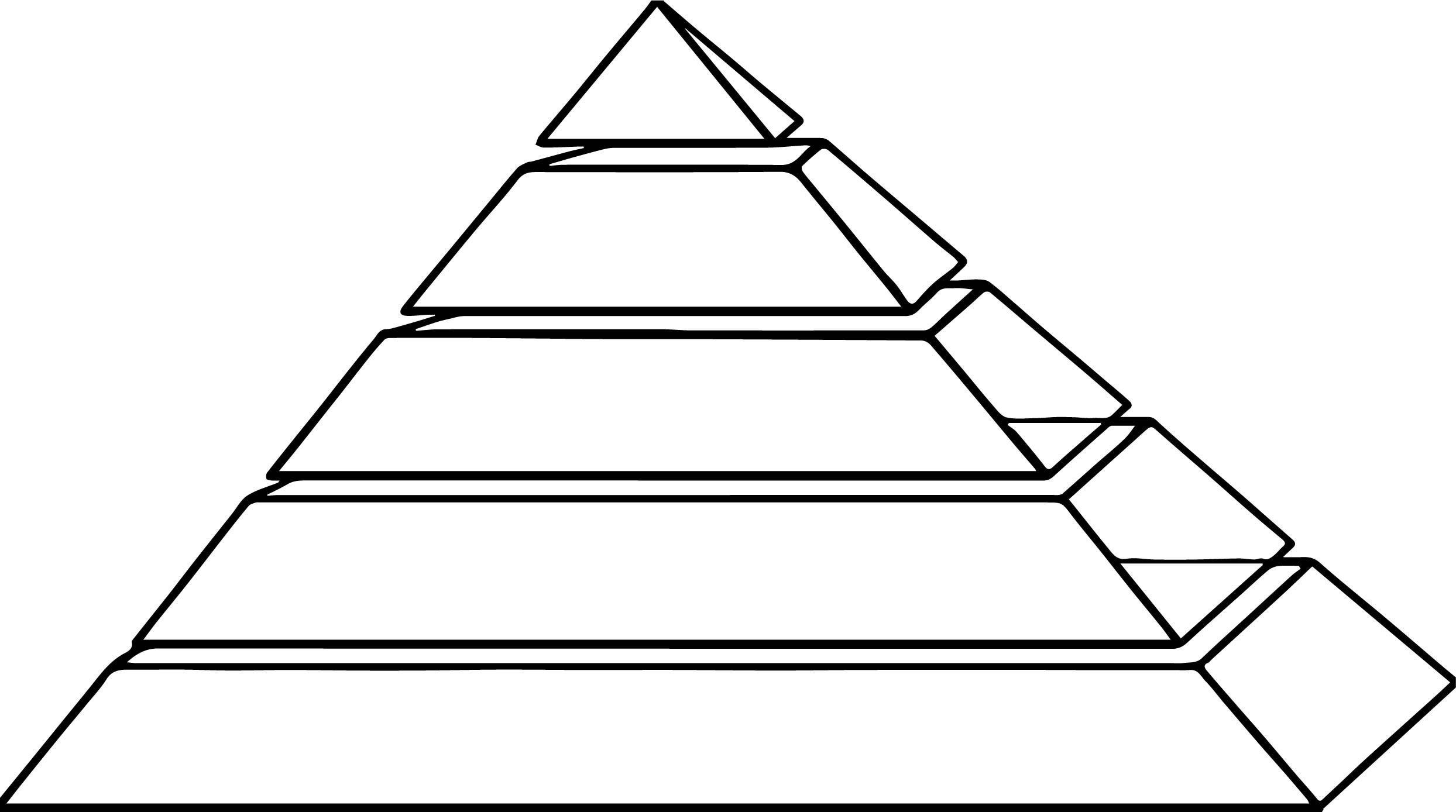 Pyramid Aztec Free Coloring Page Wecoloringpage