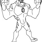 Rath Ben 10 Alien Force By Bentenny 10 Coloring Page