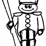 Small Toy Soldier Coloring Page