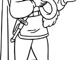 Snow White And The Prince Hat Coloring Page