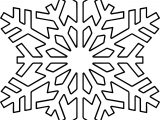 Snowflake One Coloring Page