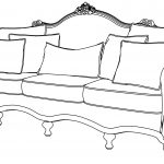 Sofa Gallery Coloring Page
