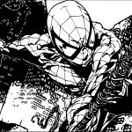 Spider Man Comics Coloring Page
