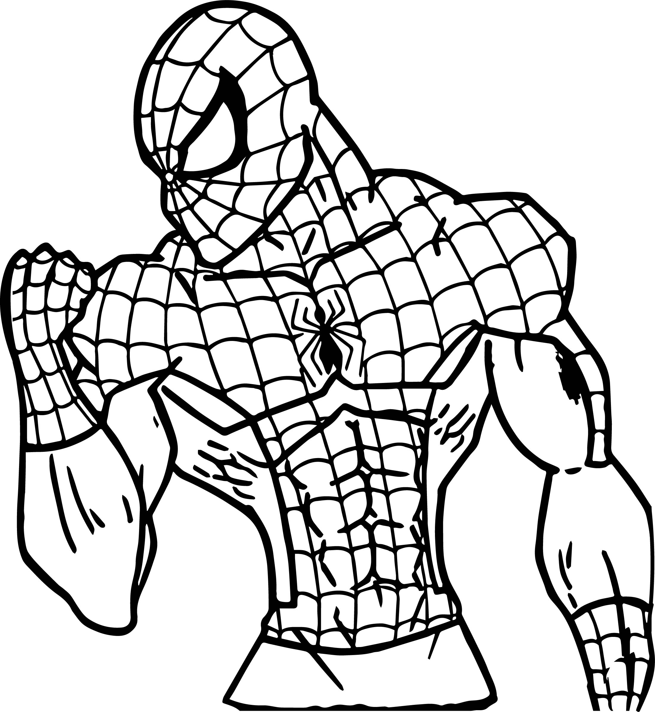 Spider Man My Power Coloring Page