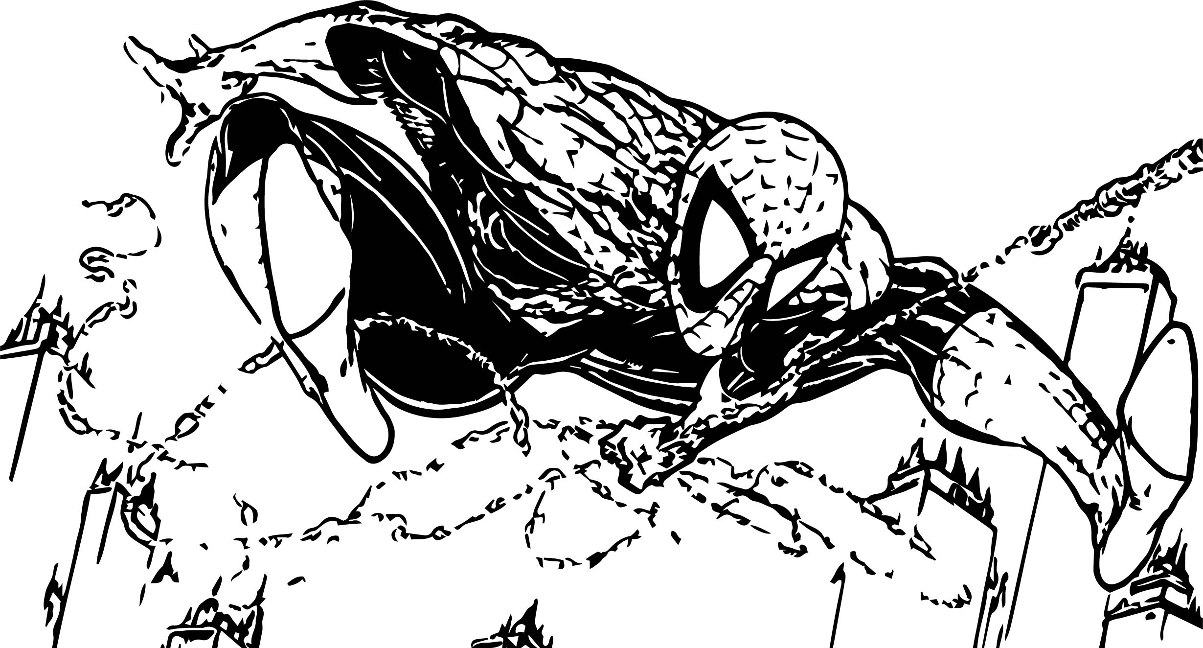 spiderman cartoon coloring pages - spiderman cartoon full size spider man coloring page
