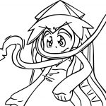 Squid Girl What Coloring Page