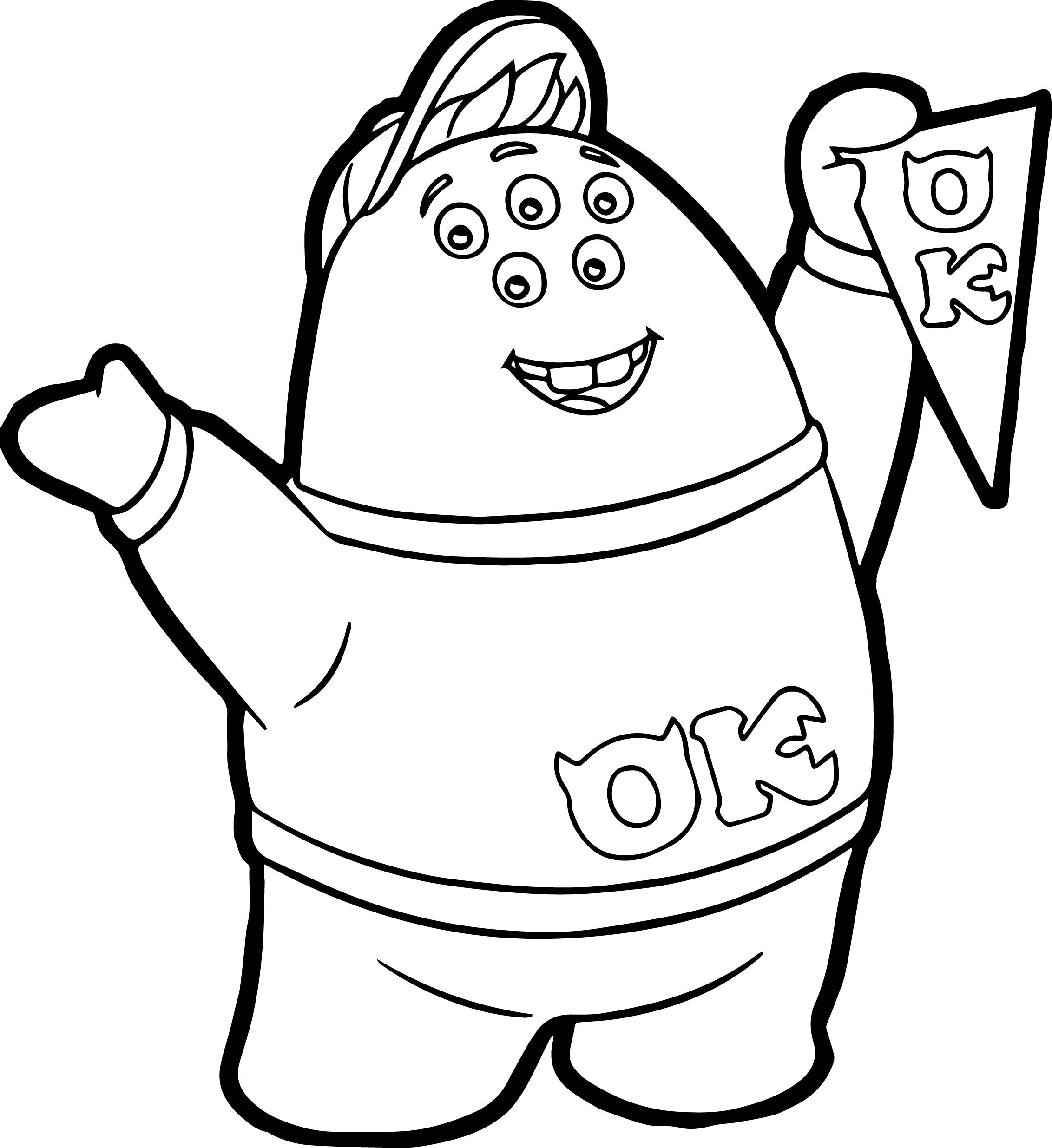 kappa mike coloring pages - photo#25