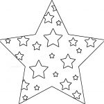 Star In Stars Coloring Page