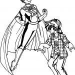 Super Danny And Fun Danny Coloring Page
