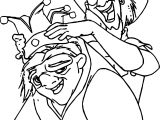 The Hunchback Of Notre Dame Clop King Coloring Page