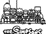 The Simpsons X A Bathing Ape Baby Milo Collection Coloring Page