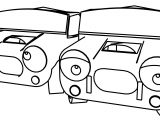 Toon Cartoon Ac Cobra Ac Cobra Deluxe Coloring Page