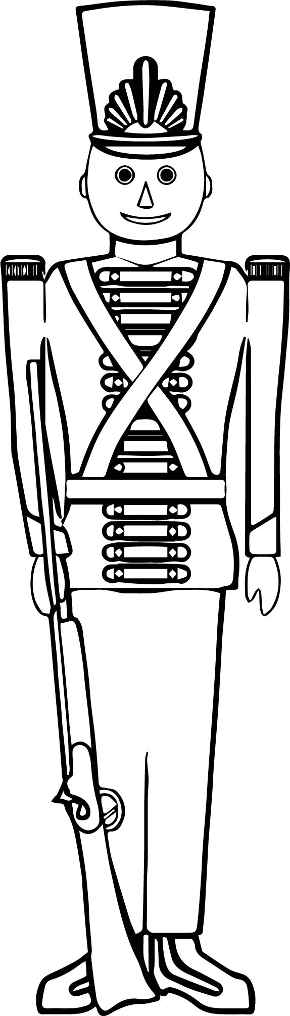 coloring pages of toy soldier - photo#19
