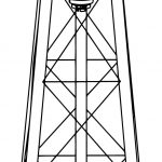 Watertower Revised Coloring Page