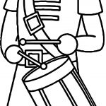 Wood Toy Soldier Coloring Page