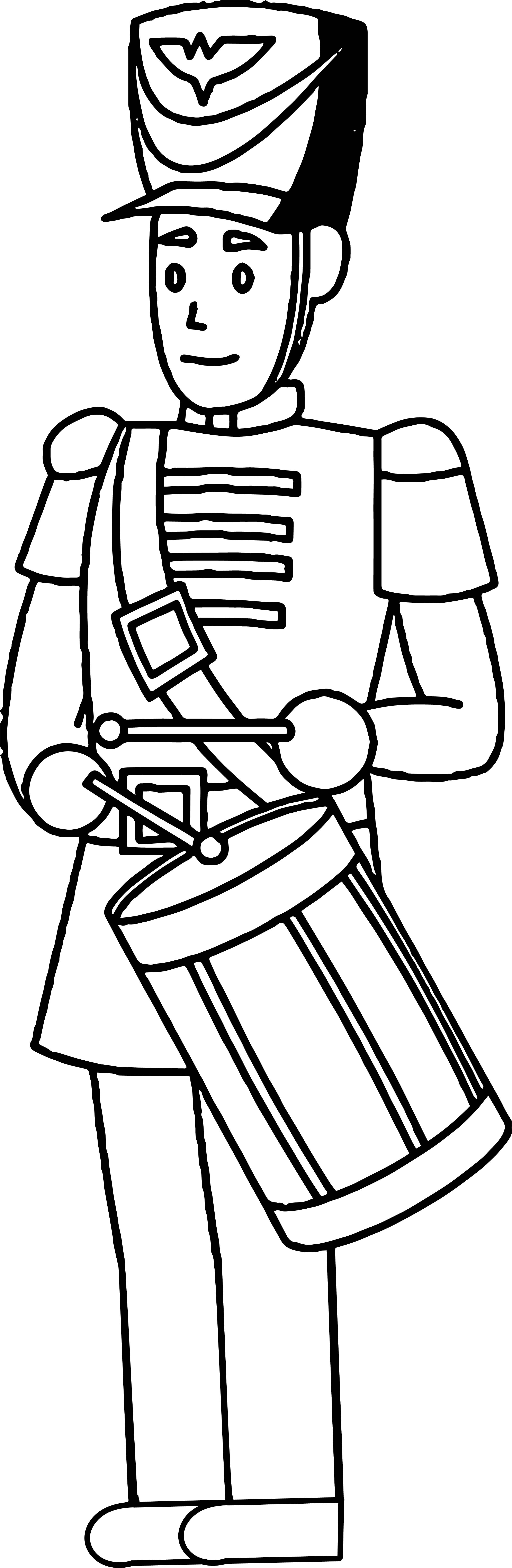 Wood Toy Soldier Coloring Page Wecoloringpage