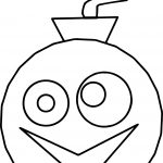 Zeeky Bomb Coloring Page