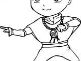 Aang Irenukia Avatar Aang Coloring Page