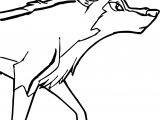 Aleu Wolf Coloring Page
