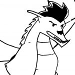 American Dragon Pic Coloring Page