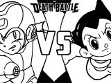 Astro Boy Death Battle Coloring Page