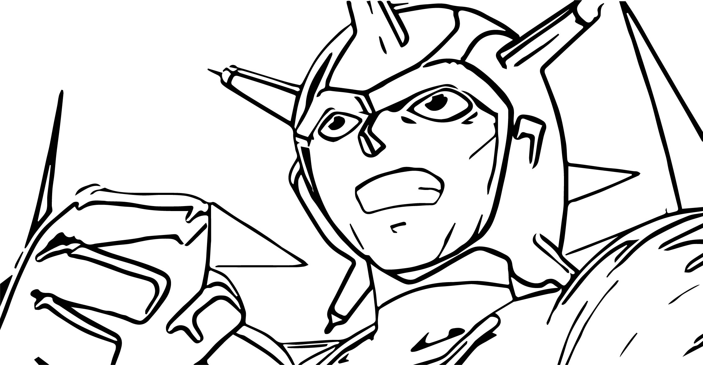 Atlas Not To Be Controlled Coloring Page
