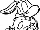 Baby Bugs Bunny Tweety Coloring Page
