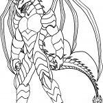 Bakugan Creature Coloring Page