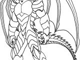 Bakugan Creature Coloring Page