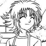 Bakugan Smile Manga Coloring Page