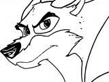 Balto Aliya Wolf Coloring Page