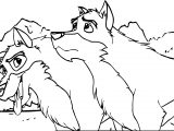 Balto And Togo Coloring Page