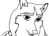 Balto Base Girl Balto Jennafan Wolf Coloring Page